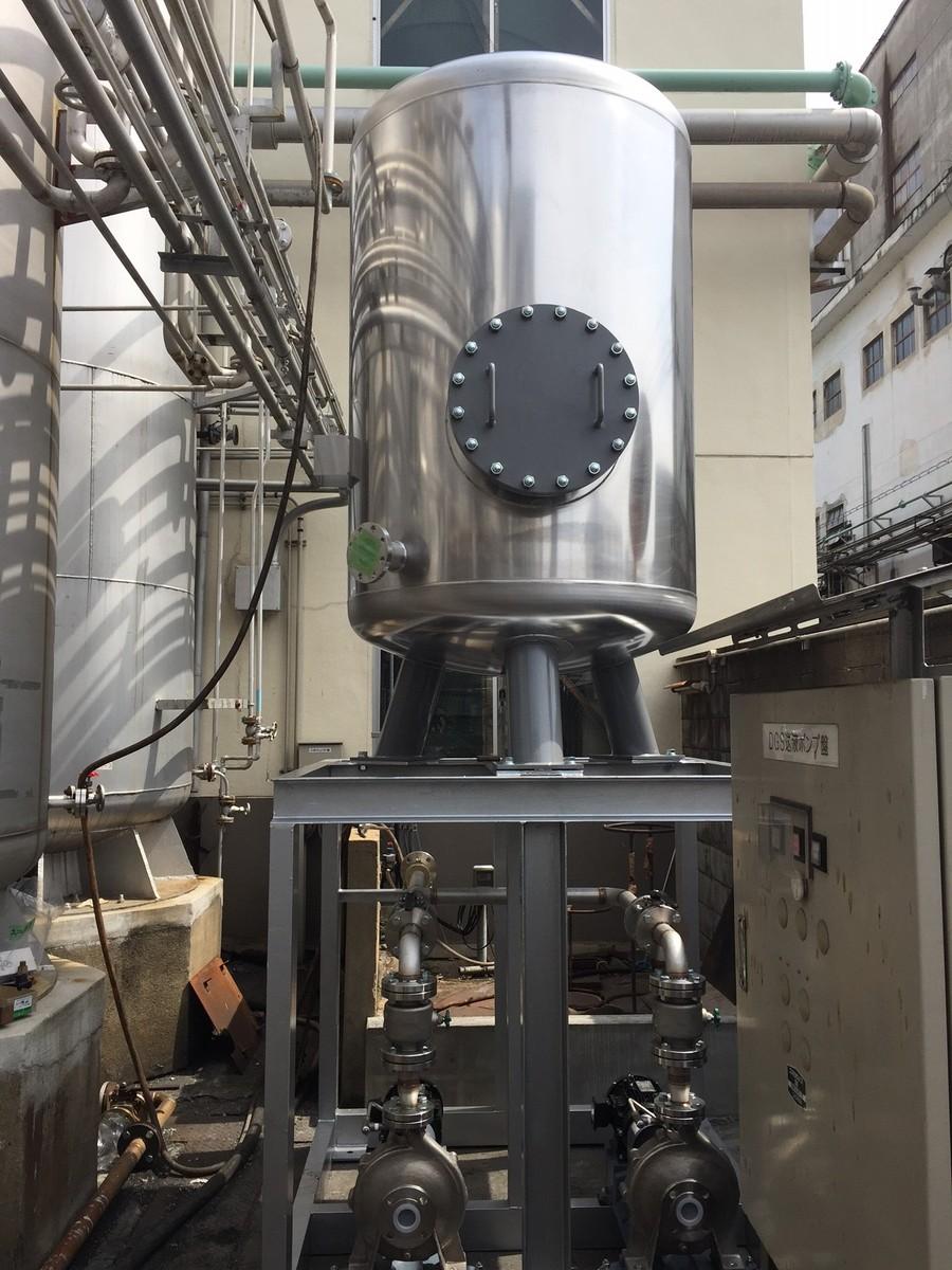 プロセス液貯蔵タンク